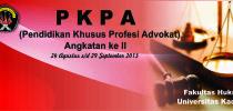 Fakultas Hukum Gelar PKPA Angkatan ke-II