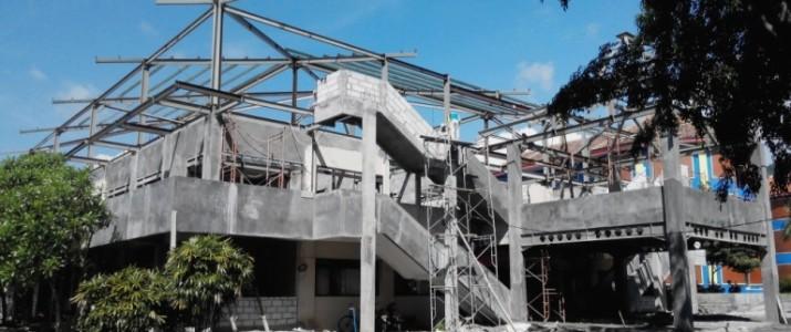 Renovasi Gedung A Universitas Kadiri