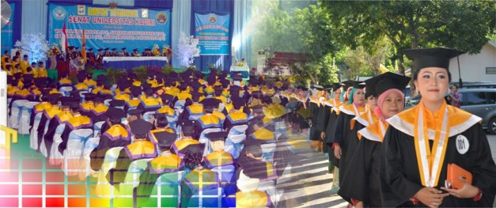 Acara Wisuda Periode II TA. 2013/2014