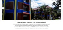 Informasi Website resmi Penerimaan Mahasiswa Baru Univ. Kadiri