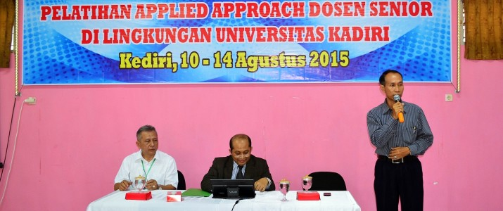 Pelatihan Applied Approach 2015