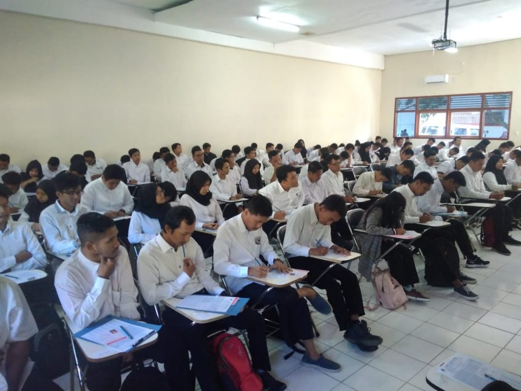Tes Penerimaan Mahasiswa Baru Program Studi Teknik Sipil Gelombang 3 Tahun Akademik 2019/2020