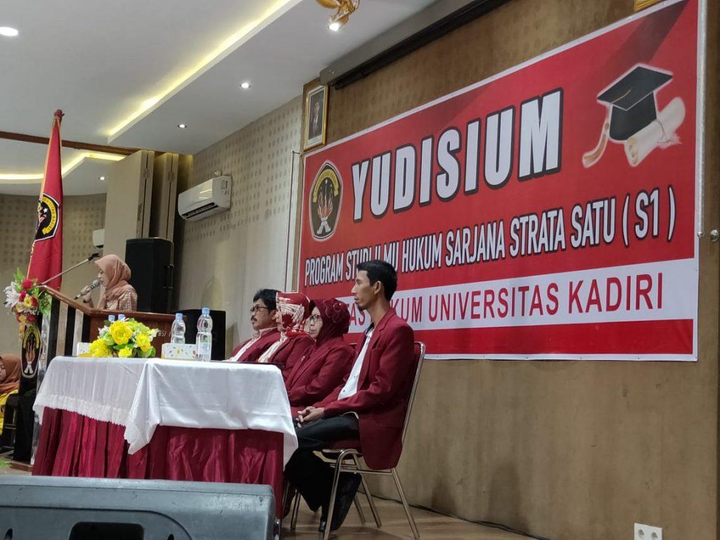 Yudicium Fakultas Hukum Universitas Kadiri Tahun 2019