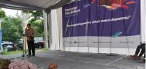 SAMBUTAN REKTOR UNIVERSITAS KADIRI DALAM PAMERAN PENDIDIKAN MGBK SMA KABUPATEN KEDIRI 2020