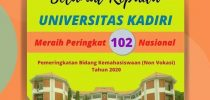 Universitas Kadiri Meraih Peringkat 102 bidang kemahasiswaan tingkat nasional untuk katagori Perguruan Tinggi Non Vokasi