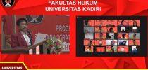 Hery Lilik Sudarmanto, SH.,M.Hum memberikan sambutan dalam Yudisium Fakultas Hukum, Sabtu, 12 September 2020.